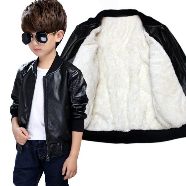 NR Online Shop for kids Clothing Black Jacket