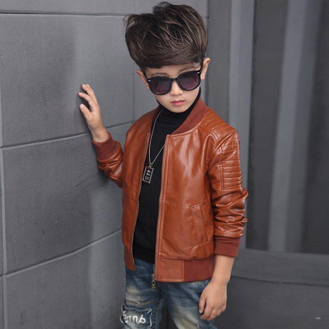 NR Online Shop for kids Clothing Brown Jacket